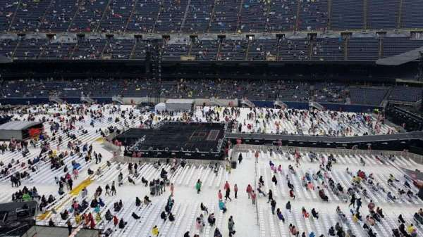 Soldier Field, section: 307, row: 3, seat: 9