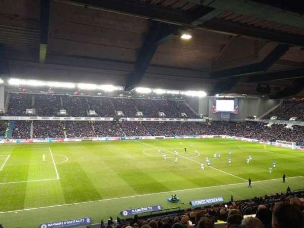 Ibrox Stadium, section: MRS, row: B, seat: 248