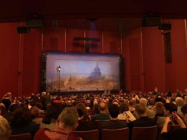 The Kennedy Center Opera House, section: Orchestra C, row: CC, seat: 125