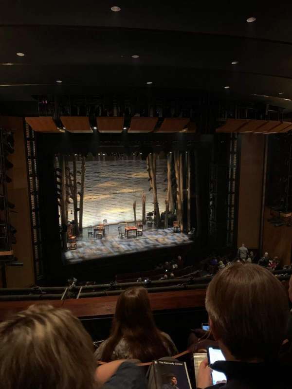 The Kennedy Center Eisenhower Theater, section: Balcony, row: C, seat: 11