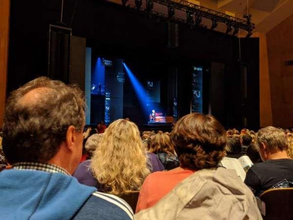 Keller Auditorium, section: Orchestra B, row: M, seat: 1