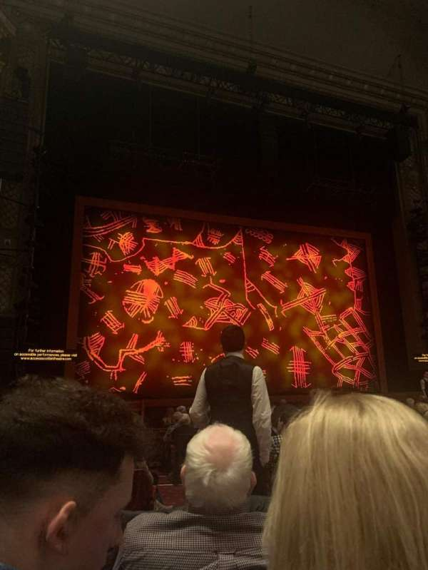 Edinburgh Playhouse, section: Stalls, row: P, seat: 37