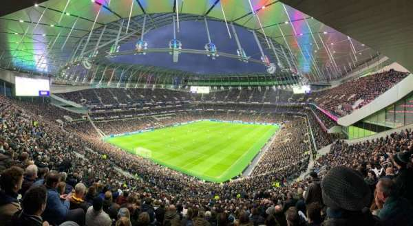 Tottenham Hotspur Stadium, section: 322, row: 59, seat: 104