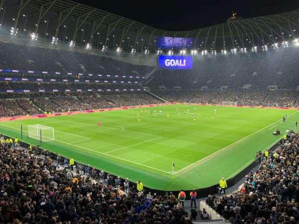 Tottenham Hotspur Stadium, section: 416, row: 1, seat: 254