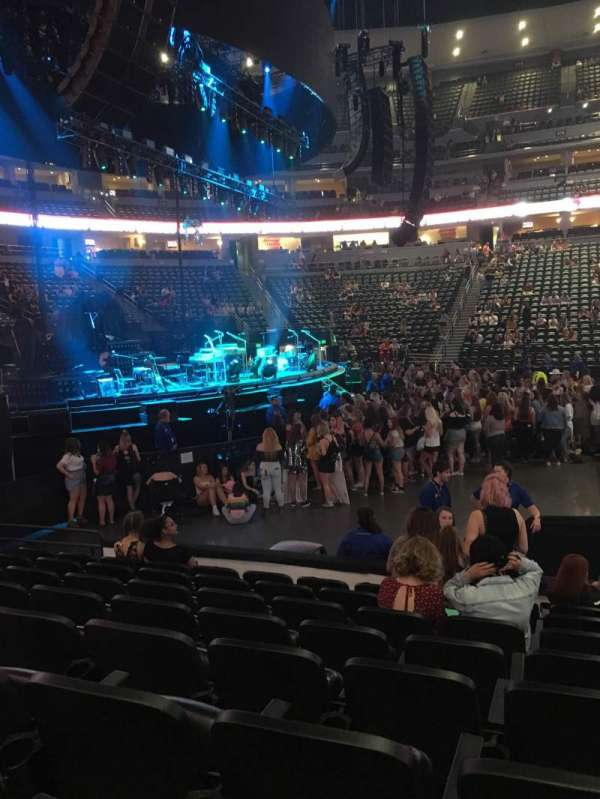 Ball Arena, section: 128, row: 8, seat: 8