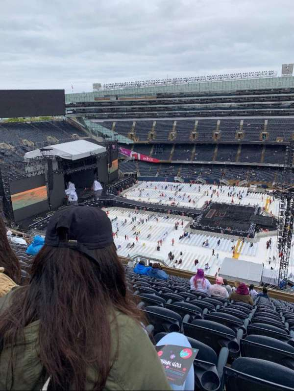 Soldier Field, section: 438, row: 20, seat: 16