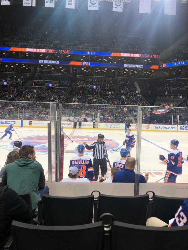 Barclays Center, section: 7, row: 6, seat: 13