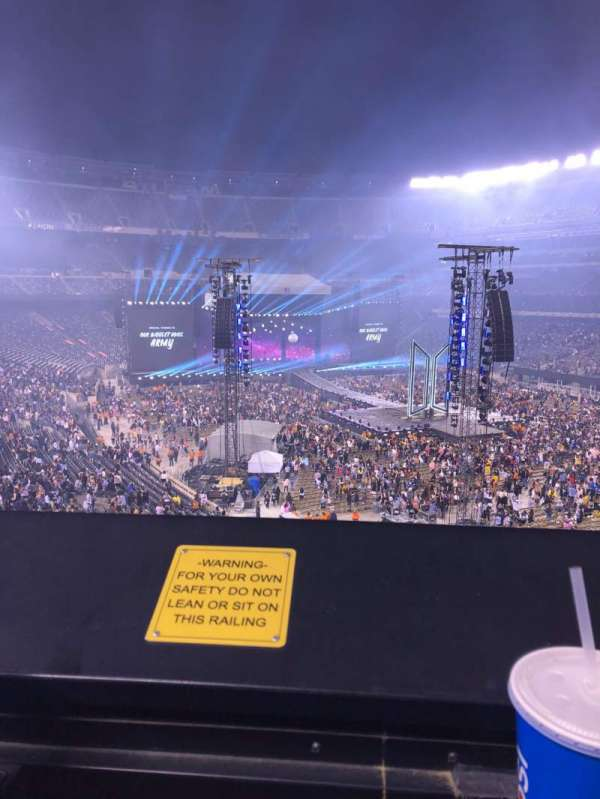MetLife Stadium, section: 231A, row: 1, seat: 8