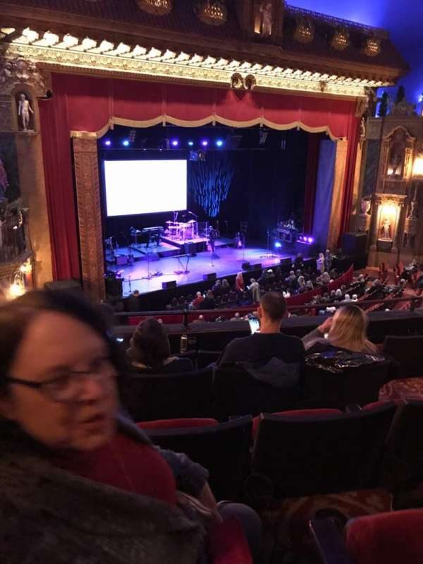 The Louisville Palace, section: Loge 6, row: E, seat: 5