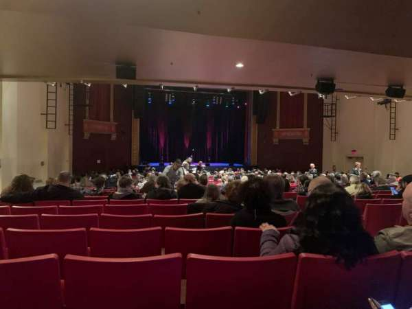 Bergen Performing Arts Center, section: Orchestra L, row: BB, seat: 7