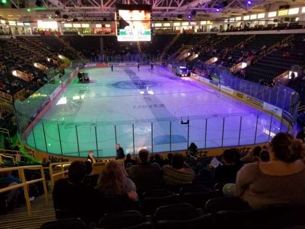 Hertz Arena, section: 106, row: 17, seat: 23