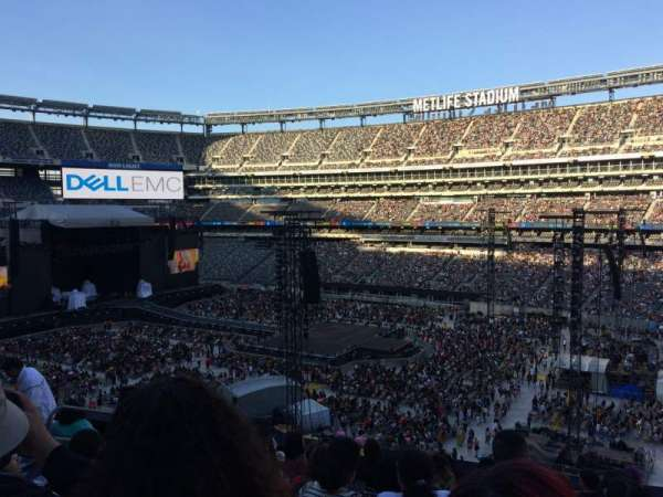 MetLife Stadium, section: 234, row: 8, seat: 16