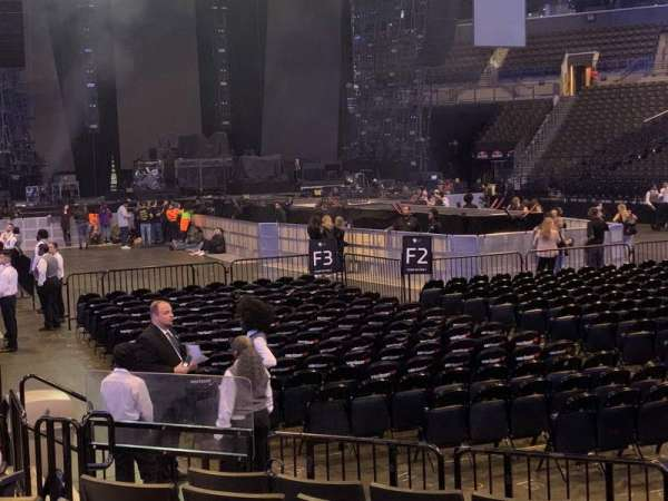 Barclays Center, section: 19, row: 7, seat: 10