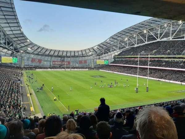 Aviva Stadium, section: 319, row: P, seat: 18