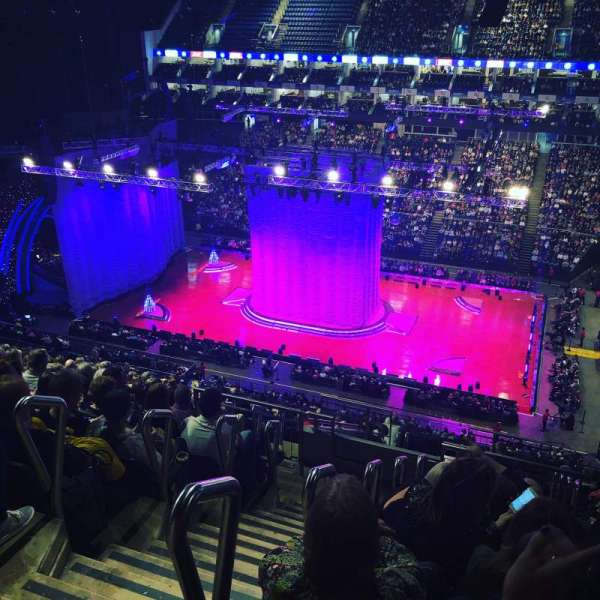 The O2 Arena, section: 405, row: P, seat: 564