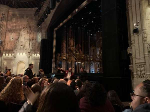 Orpheum Theatre (San Francisco), section: Orchestra R, row: J, seat: 22