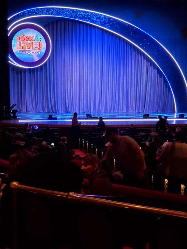 Academy of Music, section: Parquet Circle F, row: V, seat: 11