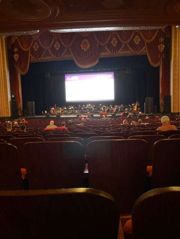 Warner Theatre (Erie), section: 103, row: Zz, seat: 22