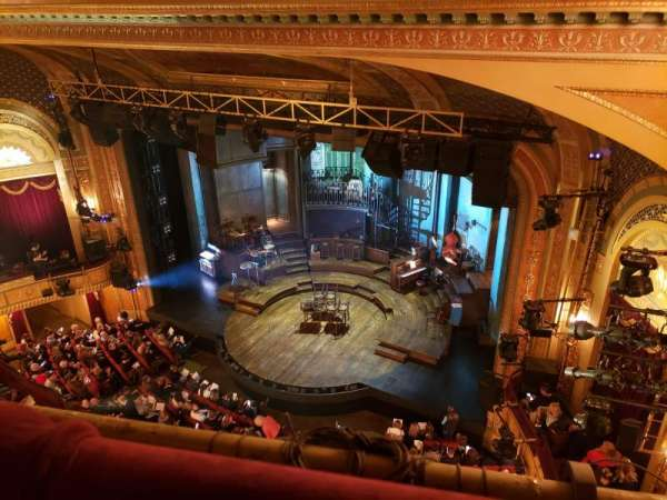 Walter Kerr Theatre, section: Balcony R, row: A, seat: 34