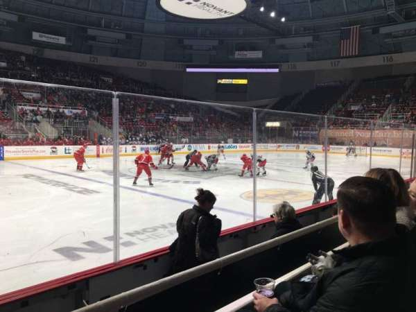 Bojangles' Coliseum, section: 106, row: B, seat: 7