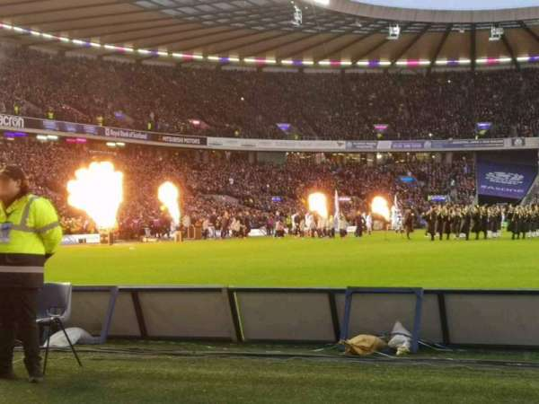 Murrayfield Stadium, section: S11, row: B, seat: 14