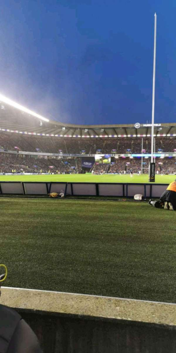 Murrayfield Stadium, section: S11, row: B, seat: 15