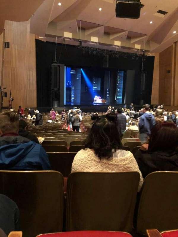 Keller Auditorium, section: Orchestra A, row: CC, seat: 3