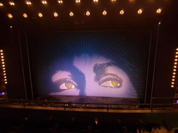 Lunt-Fontanne theatre, section: Front Mezzanine C, row: D, seat: 112