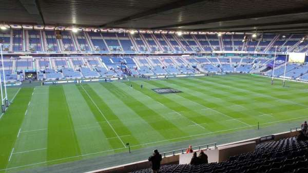 Murrayfield Stadium, section: E16, row: X, seat: 30