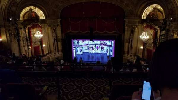 Citizens Bank Opera House, section: Balcony RC, row: S, seat: 2