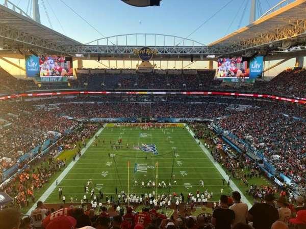 Hard Rock Stadium, section: 332, row: 21, seat: 14