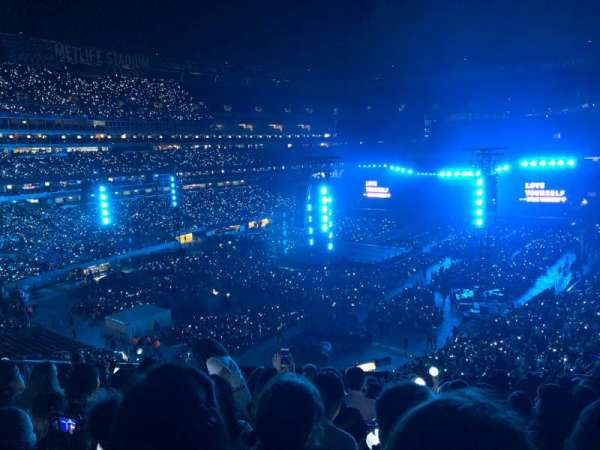 MetLife Stadium, section: 221A, row: 10, seat: 17