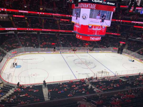 Capital One Arena, section: 415, row: A, seat: 8