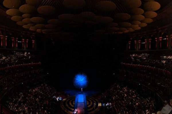 Royal Albert Hall, section: Circle T, row: 4, seat: 115