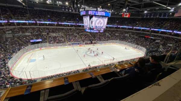 Bell MTS Place, section: 307, row: 1, seat: 12