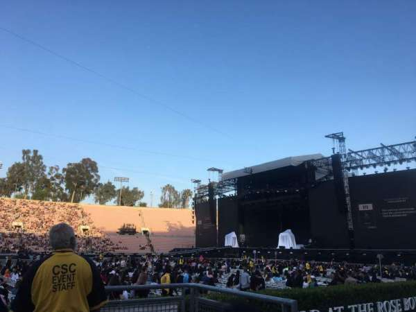 Rose Bowl, section: 18-L, row: 1, seat: 2a