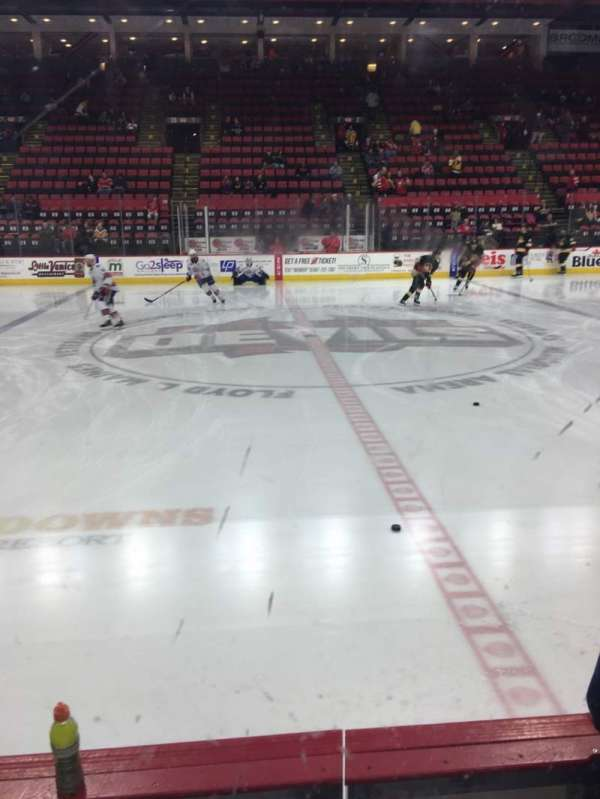 Floyd L. Maines Veterans Memorial Arena, section: 15, row: BB, seat: 11-12