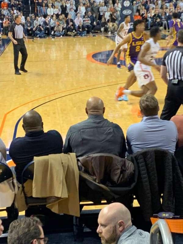 Auburn Arena, section: D, row: 6, seat: 1