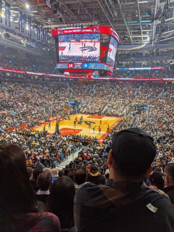 Scotiabank Arena, section: 112, row: 26, seat: 15