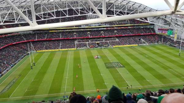 Aviva Stadium, section: 506, row: BB, seat: 13