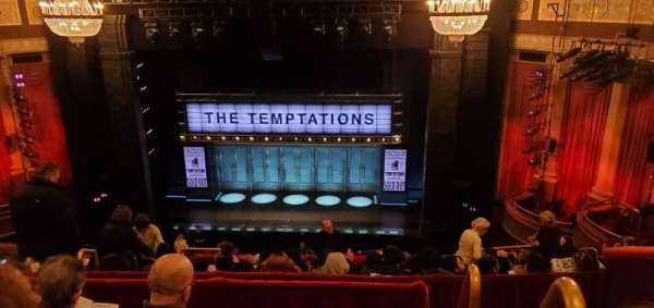 Imperial Theatre, section: Rear Mezzanine 3, row: D, seat: 1