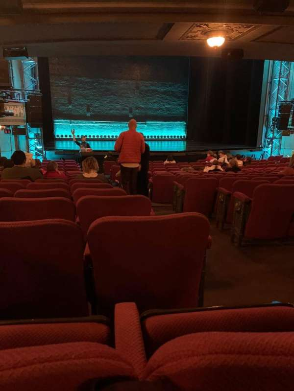 Broadhurst Theatre, section: Orchestra L, row: R, seat: 3