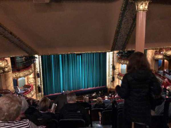Emerson Colonial Theatre, section: Dress Circle L, row: M, seat: 3