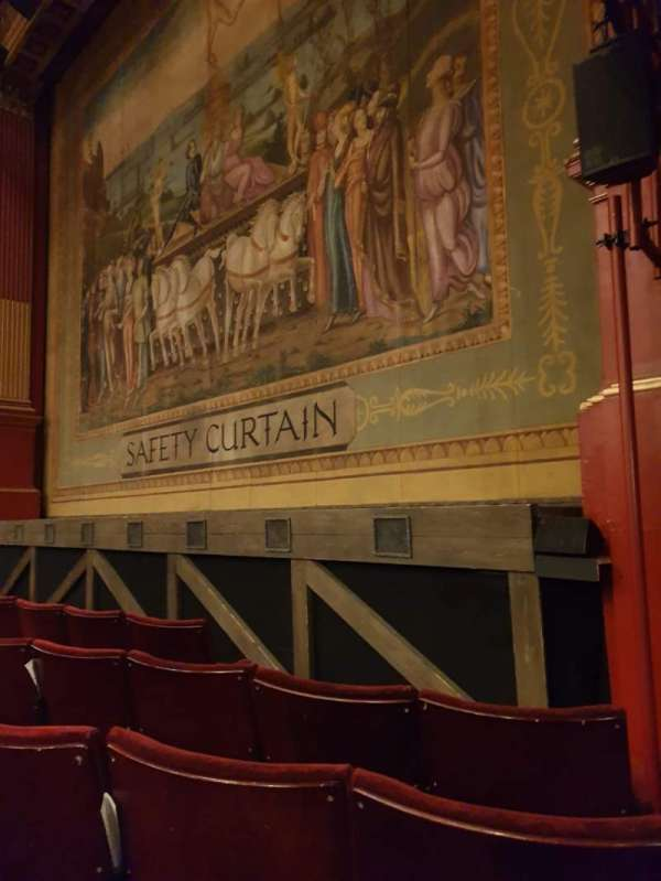 Phoenix Theatre, section: Stalls, row: D, seat: 1
