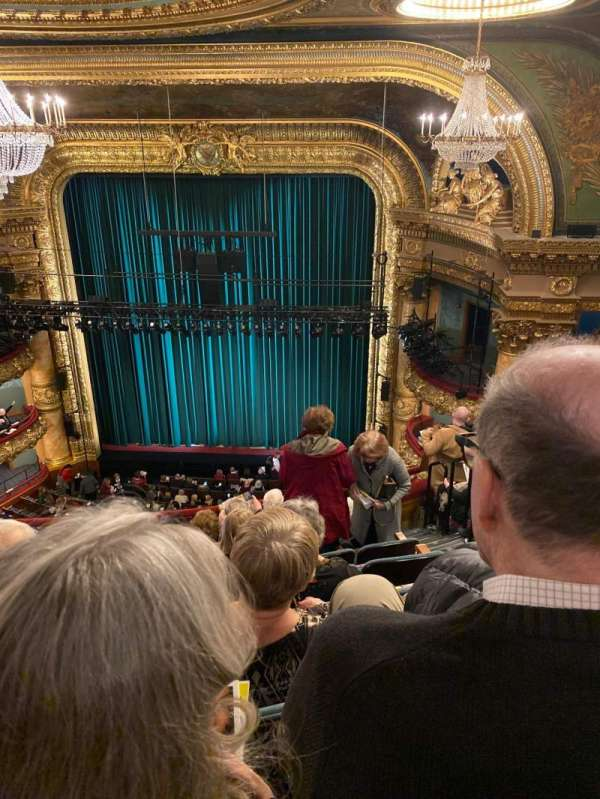 emerson colonial theatre, section: Balcony RC, row: H, seat: 118