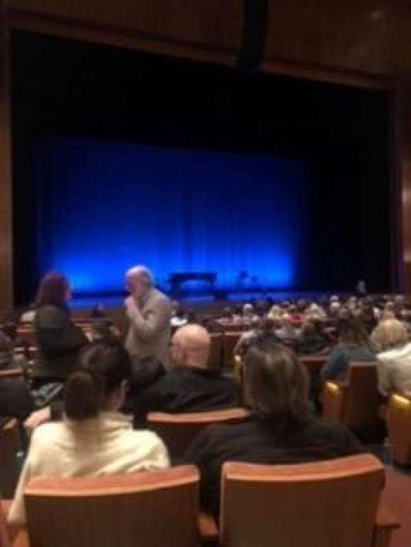 Eccles Theater, section: Orchestra L, row: M, seat: 106