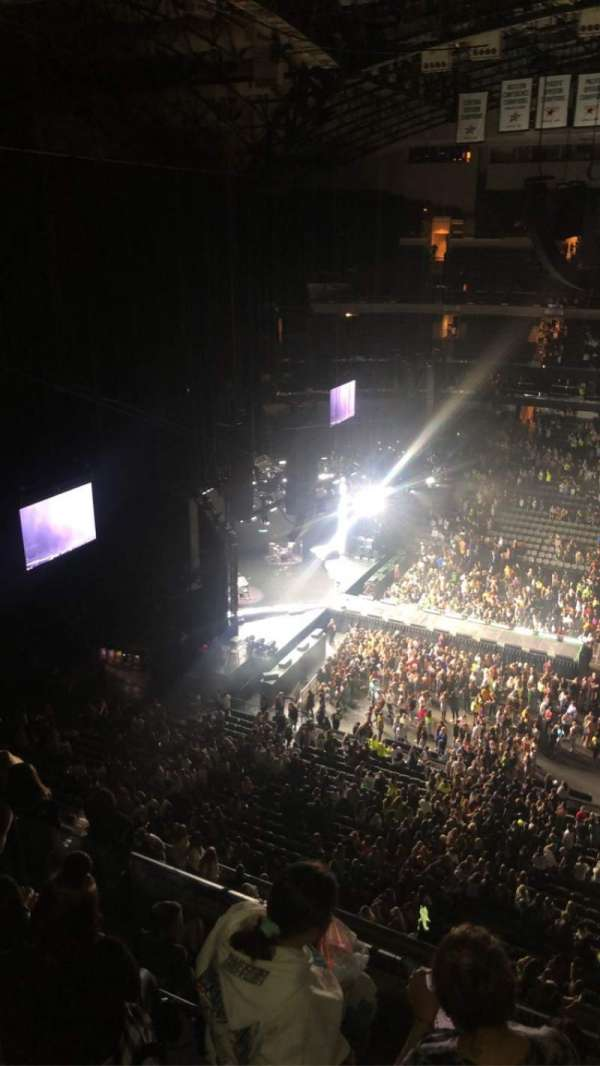 American Airlines Center, section: 326, row: H, seat: 12