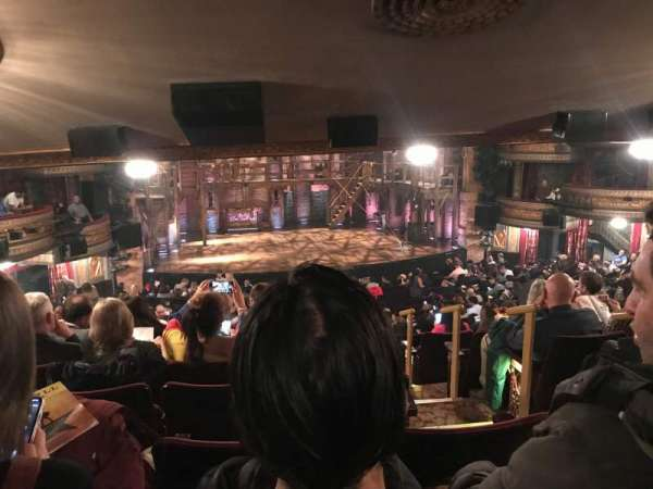 Richard Rodgers Theatre, section: Orchestra L, row: W, seat: 1
