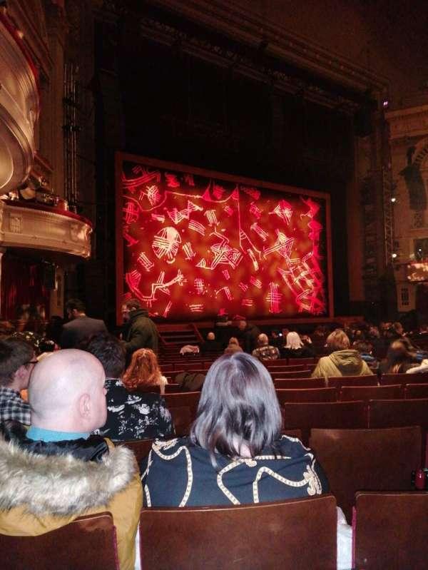 Edinburgh Playhouse, section: Stalls, row: U, seat: 50