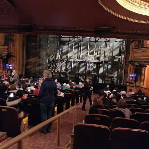 American Airlines Theatre, section: Orchestra R, row: P, seat: 2